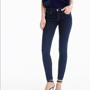 J. Crew Toothpick Ankle Skinny Jeans size 28